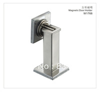Door Stopper and Holders W1766-12, Zinc Alloy, Satin Nickel ,Magnetic, All Kinds of Doors, Easy Installation