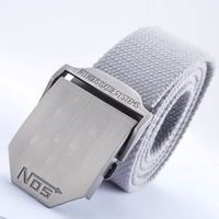 Free Shipping Nos thickening wide casual canvas belt male women's all-match belt fashion outdoor Men  wholesale