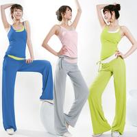 Summer yoga clothes set for women yoga fitness clothing aerobics clothing female dance wear yoga clothing sleeveless 161
