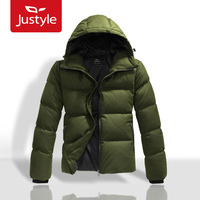 2013 male windproof thermal fashion down coat