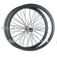 FULLFUN 38mm 20.5mm Tubular Carbon Wheelset 700c Road Bike Novatec 271/372 Hubs 3K Matte 20/24 Holes Aero Spokes Basalt Brake
