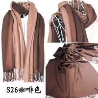 Brand New Women's Fashion Long large Soft Shawl Stole Cashmere Scarf Gradient scarf wraps W4193