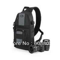 FreeShipping New Lowepro SlingShot 202 AW Photo Camera Sling Shoulder Bag DSLR Digital SLR Backpack+Rain Cover for nikon D700