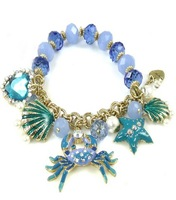 $15 free shipping Fashion crab multi-element bracelet 130630
