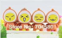 Free shipping 2GB 4GB 8GB 16GB 32GB 64GB Cute cartoon M marinated egg lovers gift USB flash drives creative gifts u disk