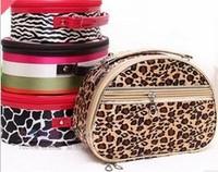 Free shipping women fashion cosmetic bag Semi portable type cosmetic bag cosmetic case
