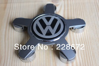 Free Shipping Five Claws Refitting Wheel Center Caps Hub Cap Wheel Covers For VW Eos GTI Tiguan Golf B6 Passat CC#4F0601165