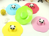 Silicone Heatproof Cup Lid Leakproof Lid Cup Cover CM1152