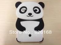 1PCS Soft 3D Panda Silicone Case Cover For Samsung Galaxy Tab 2 7.0 P3100 P3110,Galaxy Tab 7'' Plus P6200,Ship by HK Post