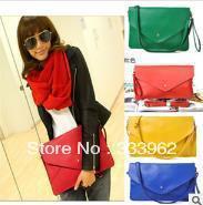 New handbags Korean wild braided belt decoration lady handbag shoulder bag PU bag diagonal package
