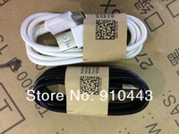 100pcs/lot, Original Mobile Phone Micro 5pin USB Data Sync Charger Cable for Samsung Galaxy S3 S4 IV I9500 Note2 N7100 i9300