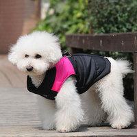 Free shipping! Nylon terylene zipper Winter Dog outerwear waterproof skiing vest Cotton-padded pet jacket clothes .10 pcs/lot