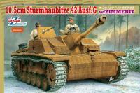 Dragon model 6454 1/35 10.5cm Sturmhaubitze 42 Stug G w/Zimmerit  plastic model kit