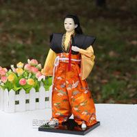 NEW Arrival 32*12*12cm  Traditional Culture  Japanese samurai warrior with Sword home Restaurant Cafe decration