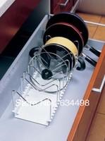 FREE SHIPPING multifunction kitchen telescopic pot rack / lid rack / Storage Rack