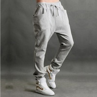 2013 fall and winter clothes,Stylish boy harem pants,Four Seasons joker big pocket sweatpants boys,pants feet men ,size:m-xxl