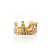 Korean jewelry fashion full rhinestones queen crown ring wholesale Q621