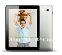 "Free Shipping HDMI 8"" Tablet PC Quad Core Actions ATM7029 Cortex A9 Android 4.1 1GHz 1GB 8GB 2 Cameras WiFi"