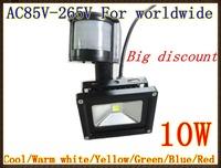 Big discount 240V 10W PIR LED Flood light White Warm Floodlight Motion Sensor A85V-265V LW41