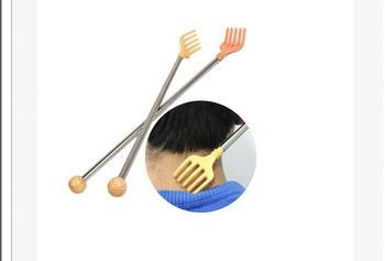 Handle Metal Shank Back Body massage Scratch Scratcher Massager Home-OD