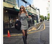 New Fashion 2014 Brand Women Bodycon Dresses/Casual Mini Winter Dresses For Women/Designer Vintage Women Dresses