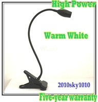50% discount! High Power Desk lighting Warm White 3W reading lamp Bed room table lamps lights