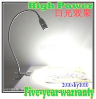 Clip Style High Power LED Desk lamp White Reading lighting 9W LED table lamps