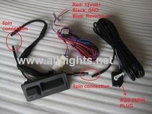 Vw rvb caméra arrière pour Golf Plus Jetta MK5 MK6 Tiguan Passat B7 RNS315 RNS510 RCD510 ajustement pour OEM 56D 827 566A 18D 827 566A(China (Mainland))