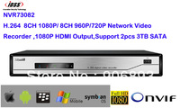 ONVIF H.264 8CH NVR Network Video Recorder for IP Camera Support 3G,Wi-Fi, 1080P HDMI /VGA Output