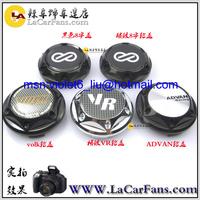 free shipping 68mm  or 64mmCar Wheel Hub Wheel Center Cap Emblem Badge WHEEL COVER sticker for ADVAN VR ENKEI