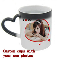DIY color  cups custom custom photo mugs custom LOGO design plans to make cup drinking cup