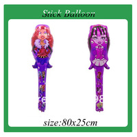 2013 Hot sales!!! 100pcs/lot  stick balloon ,  Party balloon free shipping