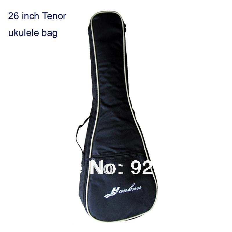 """Wholesale!!! free shipping UKeLELE case 26 inch tenor harp bag Guitar bag ukulele cover 26""""(China (Mainland))"""
