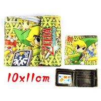 Legend of Zelda PU Wallet Purse 3Styles Cosplay 5Pcs/lot Cartoon Anime Game Toy Christmas Birthday Gift for Kids Free Shipping