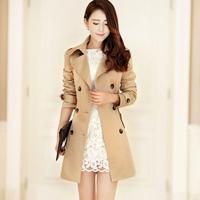 2013 autumn women's gentlewomen trench outerwear fy167