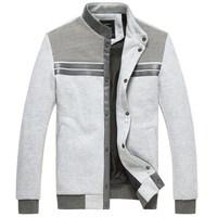 Men's clothing outerwear autumn male sweatshirt cardigan sweatshirt slim thin coat clothes