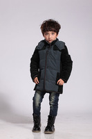 Wholesale Children clothing,2013 New arrival kid boy's winter down coat,90% duck down Free Shipping, 50% off