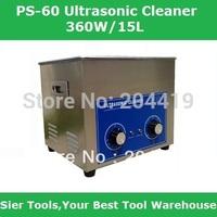 PS-60 15 L Ultrasonic Cleaner + Washing Basket/Knob Control Ultrasonic Washing Machine/motor washing machine