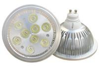 2 year warranty free shipping sale AC85-265V 12V G53 GU10 AR111 9W LED spotlight,990lm 9*1W led bulb lamp light