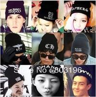 5Pcs/Lot Autumn Winter Several Popular  Knitted Woolen Hats Fashion Women Men Casual Hats Beanies  Free Shipping