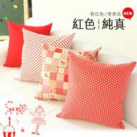 100% cotton sofa big pillow cover cute cushion cover sofa cushion cover