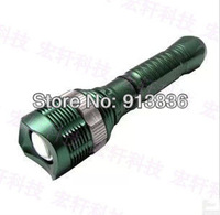 Sale-best ,high power CREE-Q5 8066 flashlight 240-350 LM 1PCS ( 18650 battery+ charger ) quality assurance +free shipping ,1 pcs