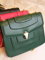 Fashion enamel star hardware buckle chain messenger bag