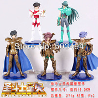 3styles Free Shipping Saint Seiya PVC Action Figures Dolls Collection Toys 5pcs/set 3Set