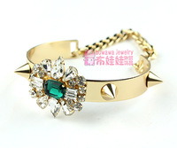 Shourouk bracelet punk series jewelry rhinestone quality accessories s002