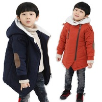 Fashion kids outerwear children jacket baby hooded casual coat 100% cotton  boys girls  zipper thickening candy color  clothes
