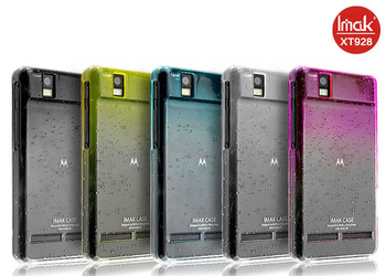 5 color,Imak Raindrop clear case For Motorola XT928 DROID RAZR, with free screen protector,Free shipping