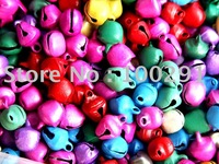 multicolor 8mm small jingle metal bell charms pendant fit christmas party wedding jewelry crafs gift