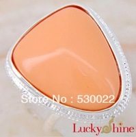 2013 new silver plated turquoise Ring Free shipping