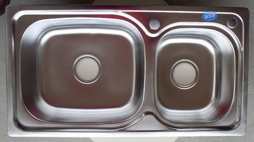 Online kopen wholesale dubbele spoelbak rvs uit china dubbele spoelbak rvs groothandel - Rechthoekige gootsteen ...